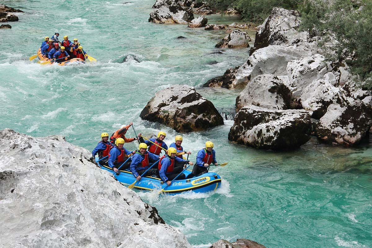 "Rafting on Soca - ""The long one"""
