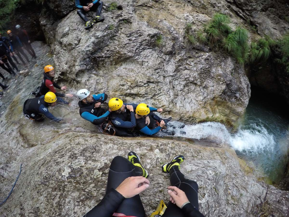 Canyoning Predelnica (1/2)