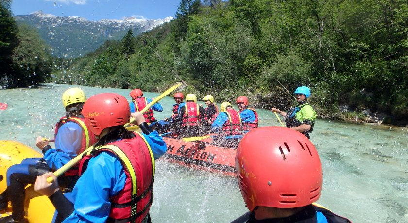 One day rafting trip
