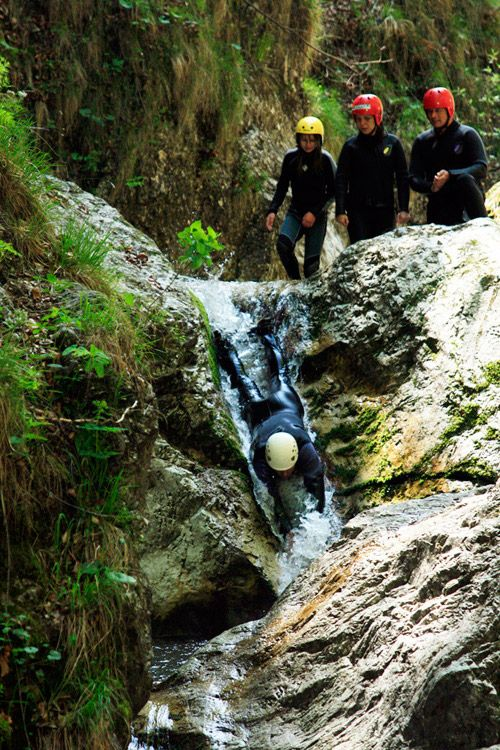 Canyoning - Pure adventure in crystal clean water