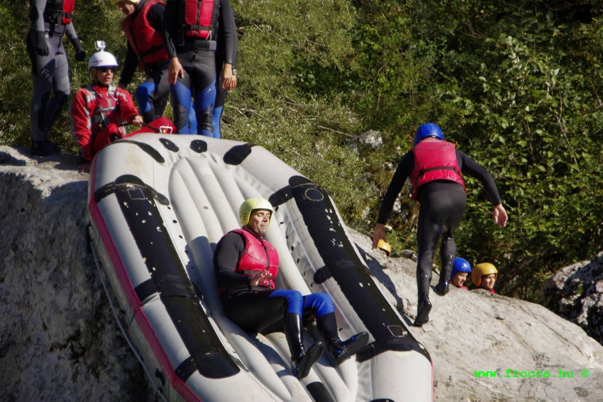 Rafting & canyoning near Bovec