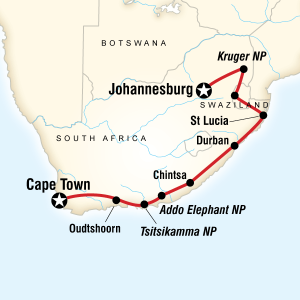 South Africa & Swazi Quest