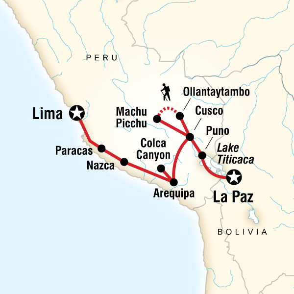 Andean Discovery (Southbound)