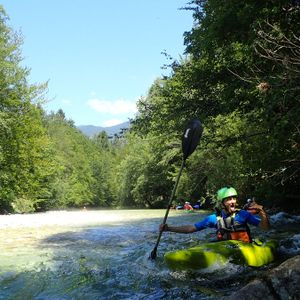 Kayaking-Sava Bohinjka- easy