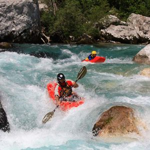 Kayak school and trips (5day) in Bovec