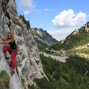 1 day climbing school in Bovec