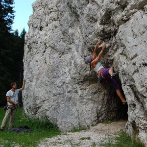 5 day climbing school in Bovec