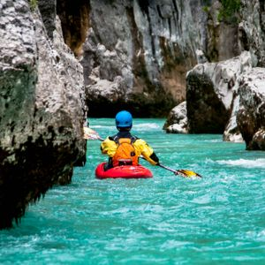 Kayak Trip in Bovec