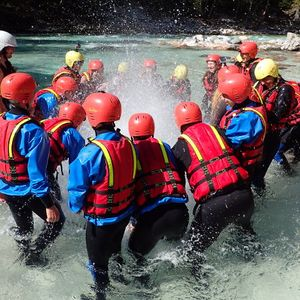 One day rafting trip in Bovec