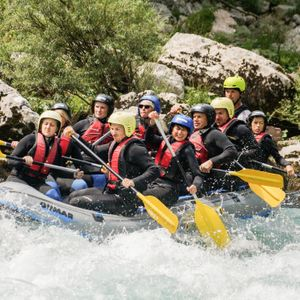 Rafting package on Soca (2 trips)