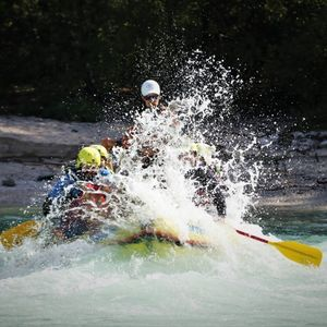 Rafting in Bovec, Kreda