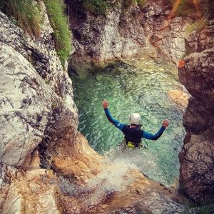 Canyoning in The Trilling Fratarica