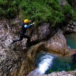 Canyoning in Bovec, Sušec