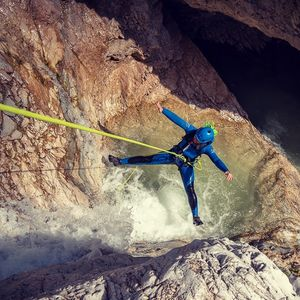 Canyoning in The Majestic Predelica - whole canyon