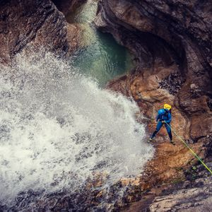 Canyoning in The Wild Predelica