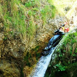 Canyoning tour in Bovec