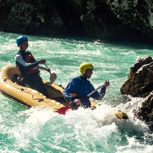 Mini Rafting in Bovec
