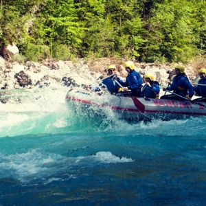 Family Rafting in Bovec