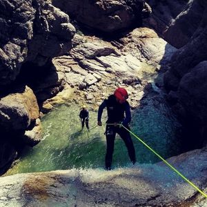 Canyoning in Bovec, Predelica
